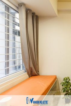 How versatile is the simple white uPVC window?  A splash of color to your interiors, and the window silently sits behind the drapes, one with the background.  Add WoodMateWindows to your homes. Steel Doors And Windows, Upvc Windows, Color Splash, Homes, Curtains, Interiors, Simple, Home Decor, Houses