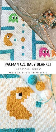 Ideas baby girl crochet patterns free blanket friends for 2019 C2c Crochet Blanket, Baby Girl Crochet Blanket, Free Baby Blanket Patterns, Crochet For Beginners Blanket, Crochet Blanket Patterns, Crochet Baby, Free Crochet, Funny Crochet, Crochet C2c Pattern