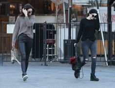 Kylie & Kendall Jenner Out For Lunch In Calabasas www.redreidinghood.com