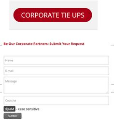 Corporate tie up with MolQ, you may submit your request.