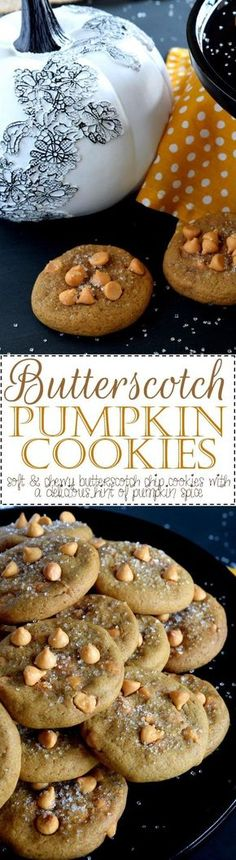 Butterscotch Pumpkin Cookies - Lord Byron's Kitchen