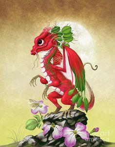 Radish Digital Art - Radish Dragon by Stanley Morrison Little Dragon, Baby Dragon, Dragon Wing, Magical Creatures, Fantasy Creatures, Dragon Series, Dragon Artwork, Dragon Pictures, Cute Dragons