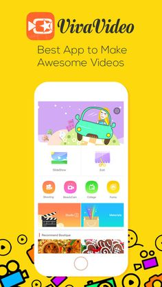 VivaVideo - Free Video Editor, Photo Slideshow Maker & Movie Camera by QuVideo Inc.