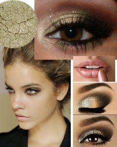 #gold #makeup #insp