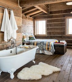 Robert Keith's rustic cabin home