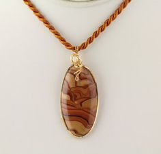 Wavy Dolomite Pendant Listing 99482636 by Ptcreationsjewelry, $45.00