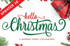 Christmas is a modern and flowing handwritten font. It is PUA encoded which means you can access all of the... Handwritten Fonts, Calligraphy Fonts, All Fonts, Modern Calligraphy, Christmas Fonts, Christmas Themes, Halloween Christmas, Christmas Design, New Year Holidays