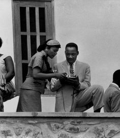#MLKday Dr. King and Mrs. Coretta Scott King on March 6, 1957 in Accra, Ghana. The Kings were in Ghana at the invitation of Prime Minister Kwame Nkrumah to celebrate the end of British colonial rule and Ghana's emergence as an independent nation. Photo: Mark Kauffman/TimeLife/Getty.
