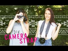 She's Adding Hooks to The Ends of Her Old Scarf to Prove You Can Make a DIY Upscale Camera Strap Too!