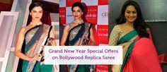Grand #NewYearOffers on #BollywoodReplicaSaree  Shop Now :- http://www.aapkacart.com/