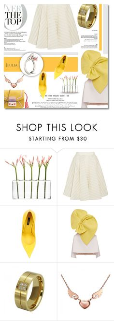 """""""OVER THE TOP"""" by defivirda ❤ liked on Polyvore featuring Dot & Bo, Giambattista Valli, Dolce&Gabbana and Delpozo"""