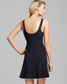 Profile by Gottex Belle Curves Cover Up Tank Dress | Bloomingdale's