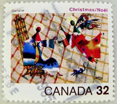 Canada Christmas stamp