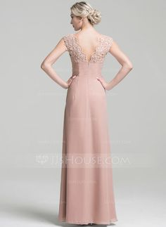 A-Line/Princess V-neck Floor-Length Beading Sequins Cascading Ruffles Zipper Up Cap Straps Sleeveless No Other Colors Spring Summer Fall General Plus Chiffon Height:5.7ft Bust:33in Waist:24in Hips:34in US 2 / UK 6 / EU 32 Evening Dress