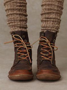 Portland Lace Up Boot. No longer available! :( Looks like a perfect winter work boot! Women's Shoes, Sock Shoes, Me Too Shoes, Shoe Boots, Galaxy Converse, Wonder Woman Cosplay, Converse Chuck Taylor, Over Boots, Ginny Weasley