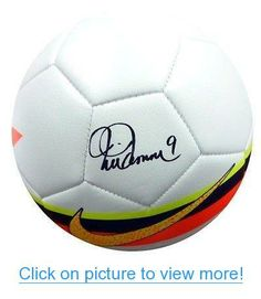 Mia Hamm Autographed Signed Nike Soccer Ball - PSA/DNA Certified - Autographed Soccer Balls