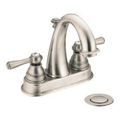 Moen Kingsley 6121 High Arc Centerset Bathroom Sink Faucet - MOE6121