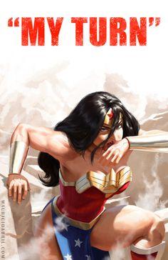 Wonder Woman by Mauricio Abril