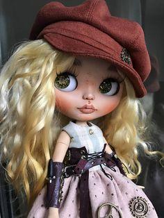 Doll reserved for Deborah-ooak custom blythe doll Stacy by