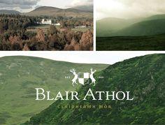Blair Athol Whiskey by Greg Richards, via Behance