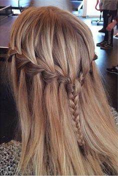 Awesome Waterfall Braids!                                                                                                                                                                                 More