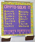 Crypto-Solve It. make bottom part something that can switch out for different phrases?