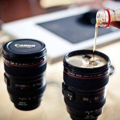 The Mug Shaped Like a Camera Lens
