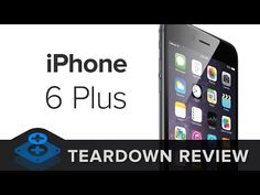 iPhone 6+ Teardown Video - This is so cool! You can see the guts of the #iPhone6Plus in this video!