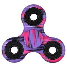 EVERMARKET New Style Premium Tri-Spinner Fidget Toy With Premium Hybrid Ceramic Bearing – Purple