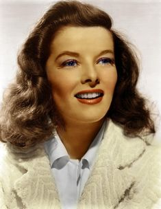 Katharine Hepburn. She's my #1 and has been since I was a young girl. First loved her because she reminds me so much of my mom. In this photo, she really looks like her. Kate was so far ahead of her time and I love her for that.