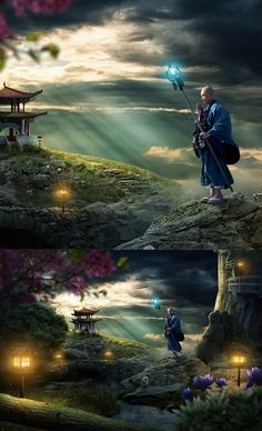 The Spiritual Monk