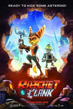 Cartel de la película de Ratchet & Clank