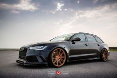 Hamana Audi C7 RS6 on Vossen Forged VPS-307 wheels