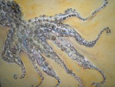 octopus  mixta-lienzo