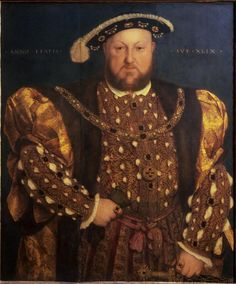 Portrait of Henry VIII - Hans Holbein the Younger, 1540---love the Tudor period in history