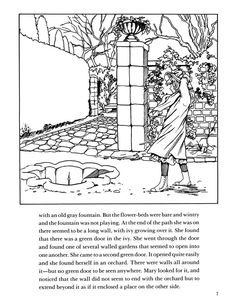 New The Secret Garden Coloring Book 61 Wele to Dover