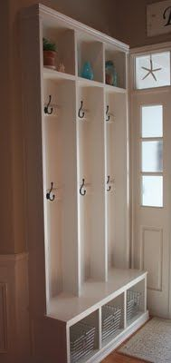 idea for hall outside cold cellar @itsthelittlethingsthatmakeahouseahome (2009)