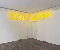 """visual-poetry: """" by martin creed [via] """""""
