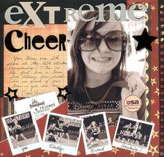 Rusty Pickle: Extreme cheer - Scrapbook.com