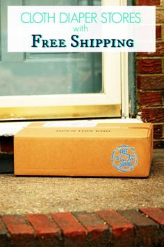*UPDATED* List of cloth diaper stores with FREE shipping & low threshold shipping in the US.
