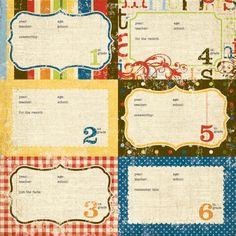 4x6 Elements #1 | Simple Stories