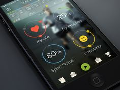 7 Great Examples of Mobile Apps Interface Designs