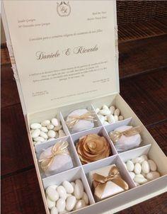 caixa de presente para madrinha de casamento - Google Search