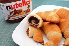 Nutella Crescents.