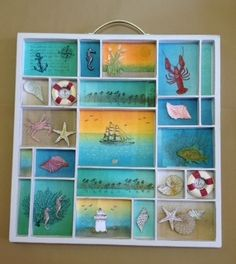 June Brayered Cards and Shadow box by Kaisertiwncrafts - Cards and Paper Crafts at Splitcoaststampers