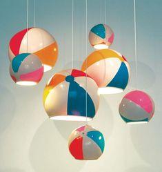 Beach Ball Lamp Shade
