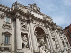 The Trevi Fountain in Rome, a great love place for every couple visiting this city.