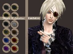 Sims 4 CC's - The Best: Rose Eye Patch by Karzalee