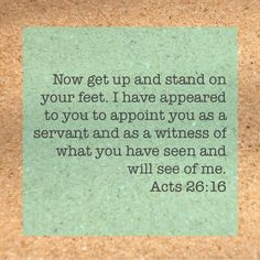 Acts 26:16