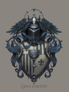 ArtStation - Crests of arms for Maguss, Alexey Yakovlev